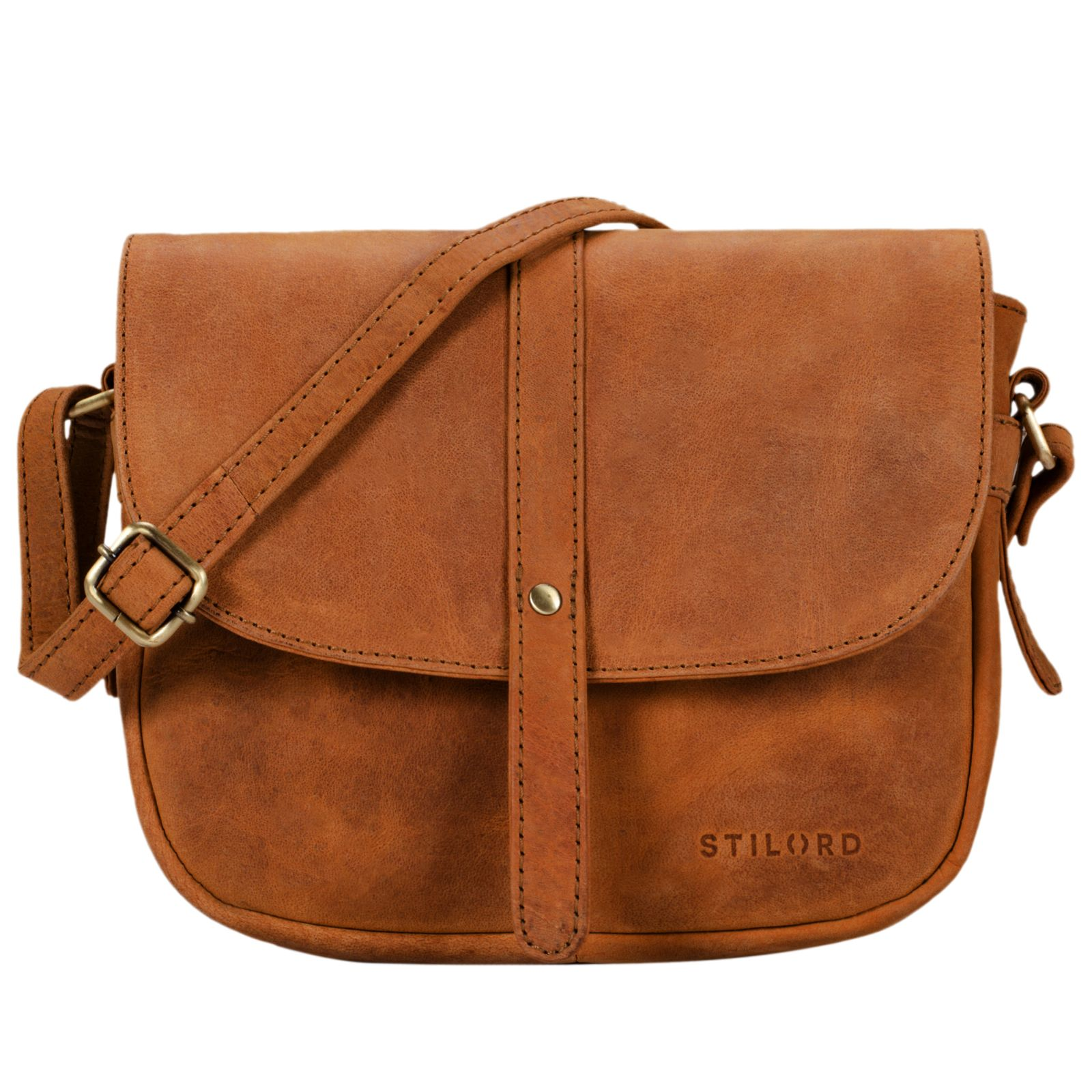 """STILORD """"Kira"""" Umhängetasche Frauen Leder Vintage kleine Handtasche zum Ausgehen klassische Abendtasche Partytasche Freizeittasche Echtleder - Bild 13"""