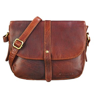 """STILORD """"Kira"""" Umhängetasche Frauen Leder Vintage kleine Handtasche zum Ausgehen klassische Abendtasche Partytasche Freizeittasche Echtleder – Bild 9"""