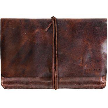 """STILORD """"Collin"""" Vintage Tablettasche Leder Universal für 9.7 - 10.1 Zoll Tablethülle Schutz Organizer Ledertasche echtes Rindsleder"""