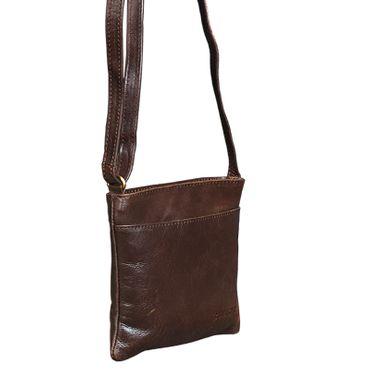 """STILORD """"Lana"""" kleine Umhängetasche Damen Ausgehtasche Schultertasche Handtasche echtes Büffel Leder Vintage Design – Bild 12"""
