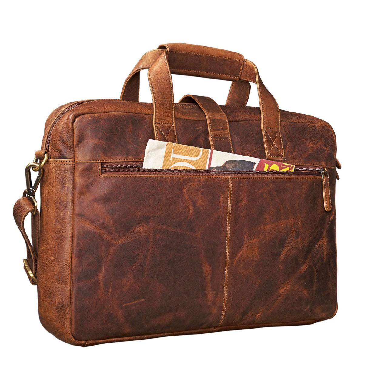 stilord michael lehrertasche leder vintage leder laptoptasche 15 6 zoll gro b ro uni herren. Black Bedroom Furniture Sets. Home Design Ideas