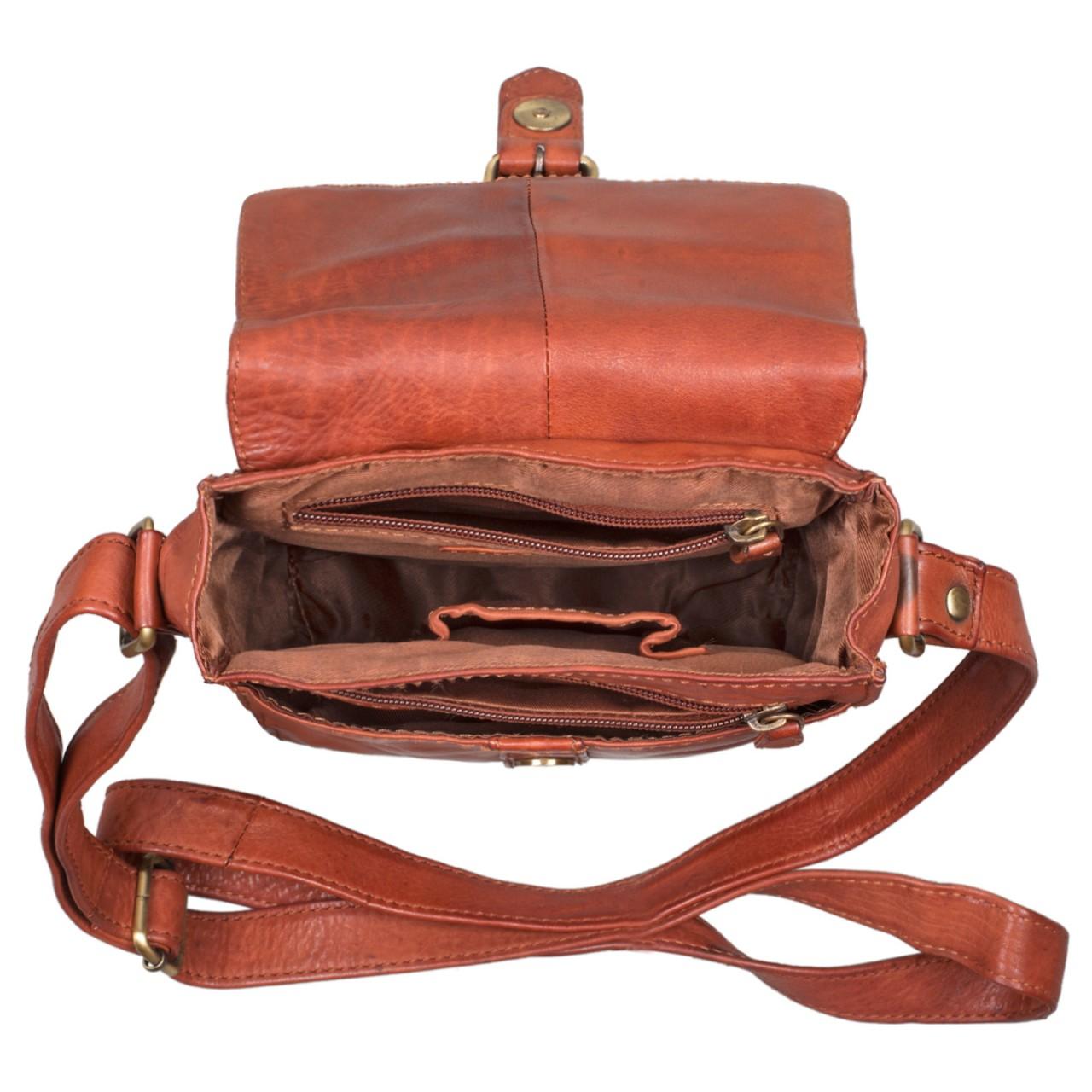 """STILORD """"Kilian"""" Vintage Umhängetasche Leder klein Unisex Messenger Bag für 8,4 Zoll Tablets Schultertasche Herren Damen echtes Leder - Bild 18"""
