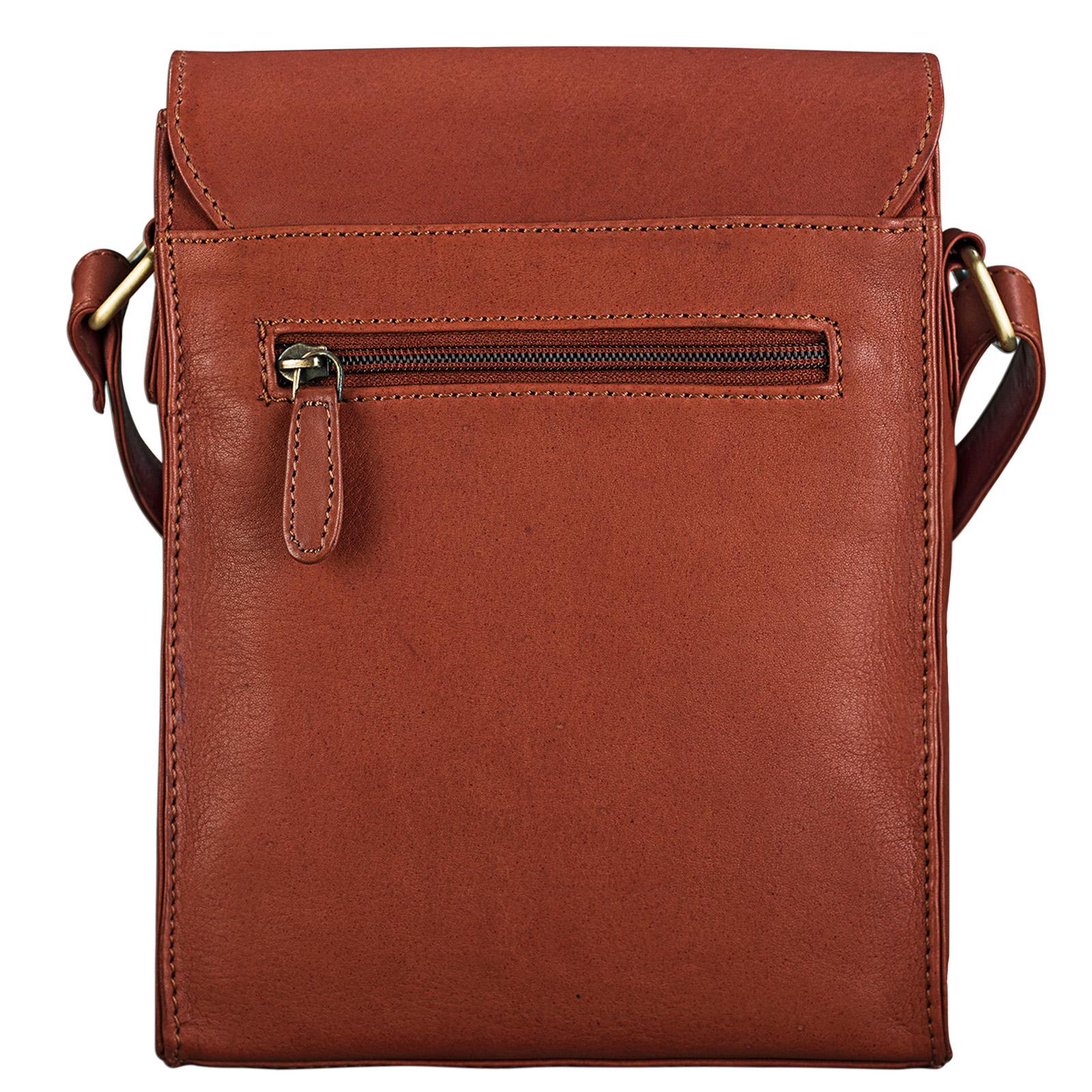 """STILORD """"Kilian"""" Vintage Umhängetasche Leder klein Unisex Messenger Bag für 8,4 Zoll Tablets Schultertasche Herren Damen echtes Leder - Bild 13"""