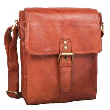 """STILORD """"Kilian"""" Vintage Umhängetasche Leder klein Unisex Messenger Bag für 8,4 Zoll Tablets Schultertasche Herren Damen echtes Leder – Bild 16"""