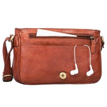 """STILORD """"Leana"""" Damen Umhängetasche Leder klein Vintage Handtasche viele Fächer elegante Ausgehtasche Vintage Echtleder – Bild 20"""