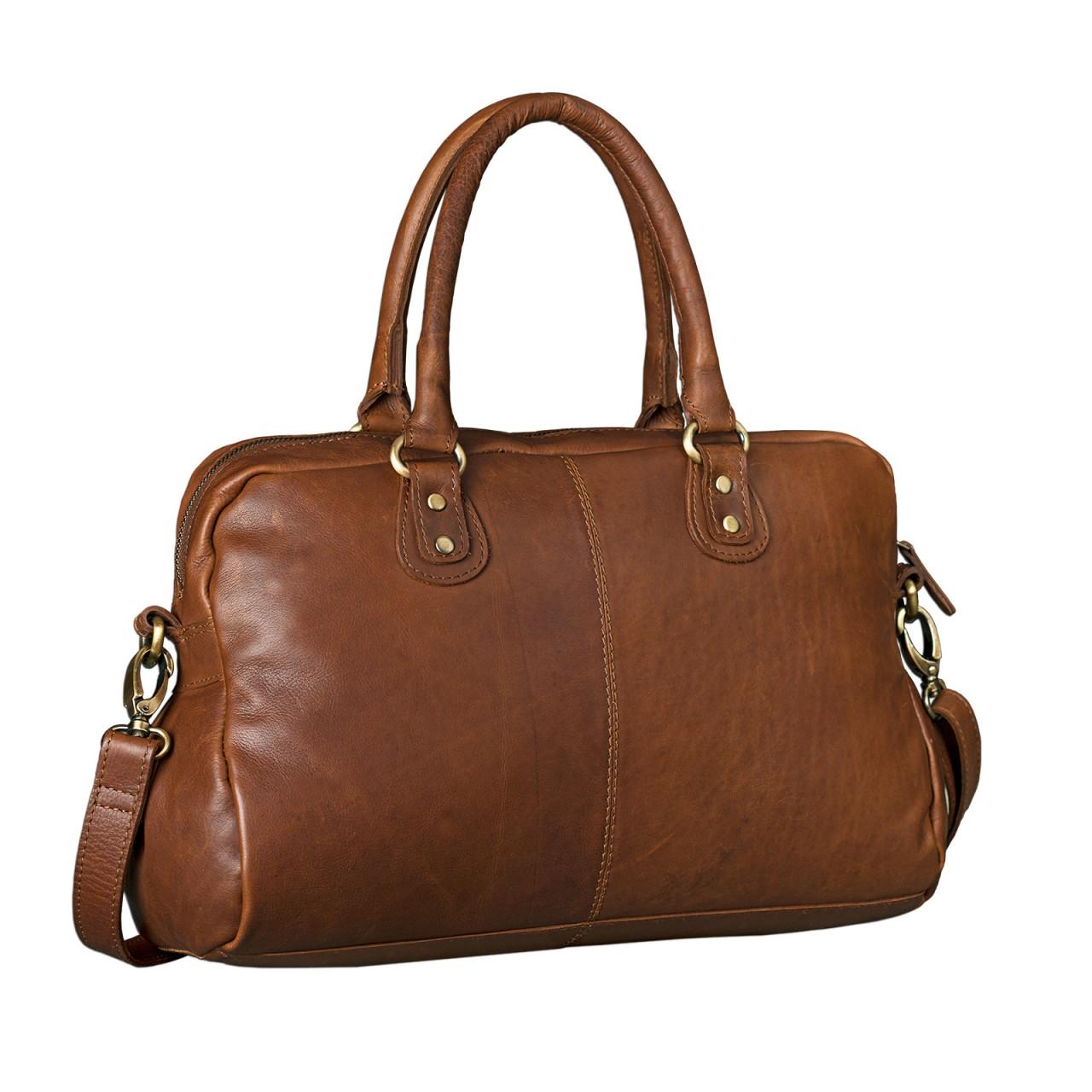 """STILORD """"Elena"""" Vintage Handtasche Damen Umhängetasche geflochten elegante Ledertasche Shopping Ausgehen weiches Leder - Bild 3"""