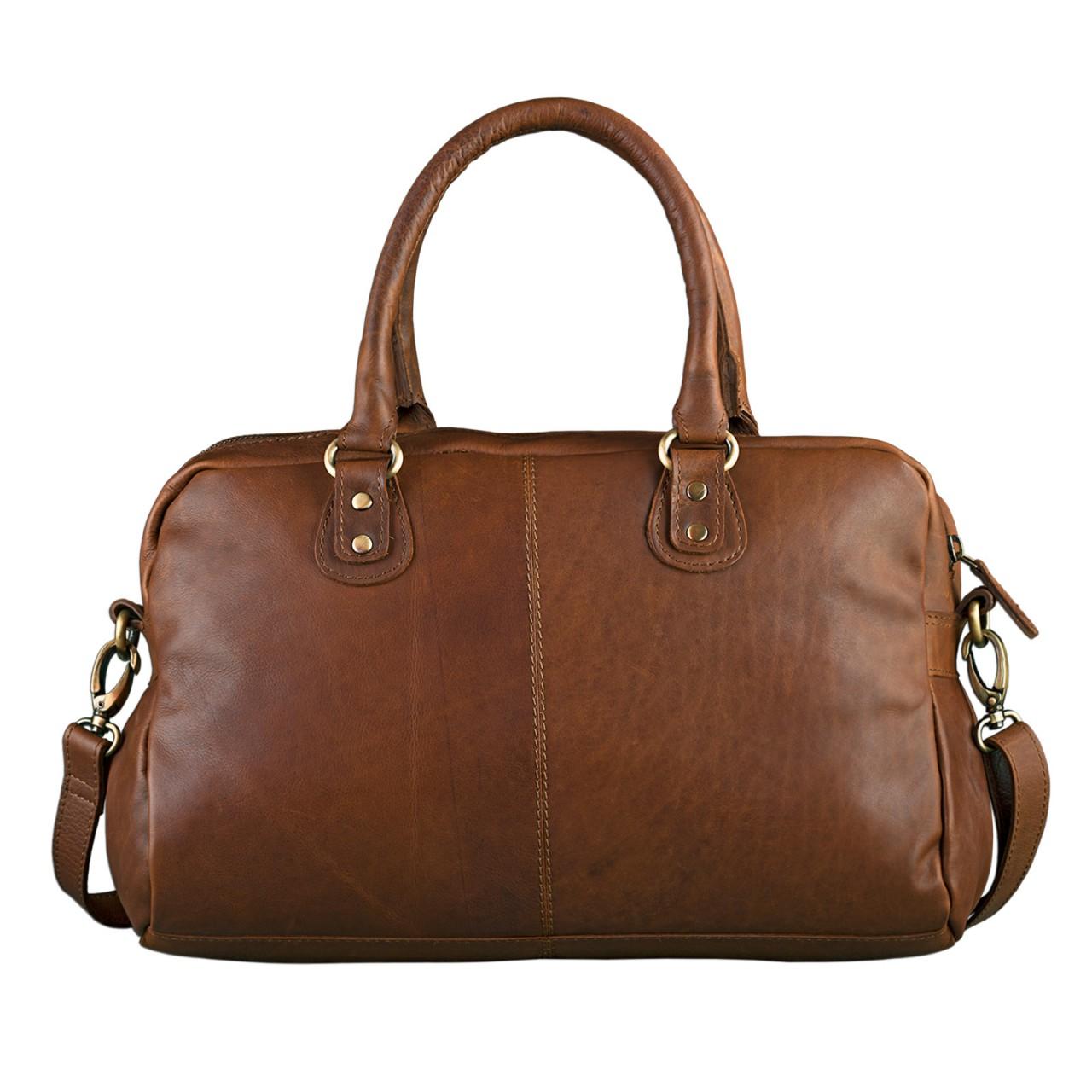 """STILORD """"Elena"""" Vintage Handtasche Damen Umhängetasche geflochten elegante Ledertasche Shopping Ausgehen weiches Leder - Bild 6"""