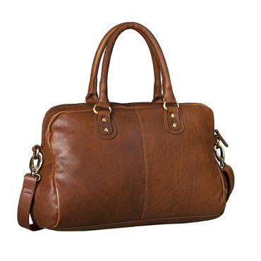"""STILORD """"Elena"""" Vintage Handtasche Damen Umhängetasche geflochten elegante Ledertasche Shopping Ausgehen weiches Leder – Bild 3"""