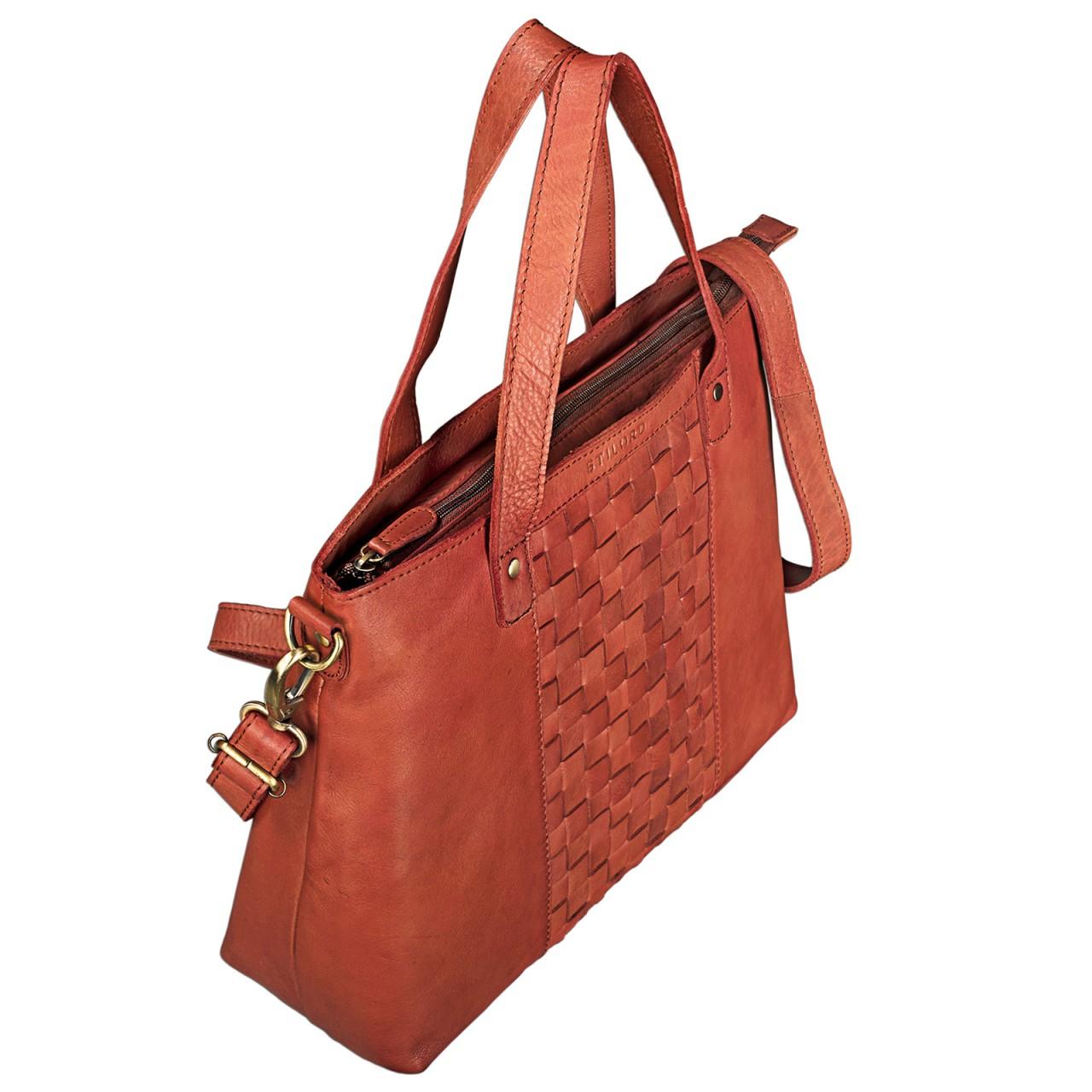"""STILORD """"Mara"""" Elegante Handtasche geflochtenes Leder mit abnehmbaren Schulterriemen Abendtasche Ausgehtasche Echtleder - Bild 14"""