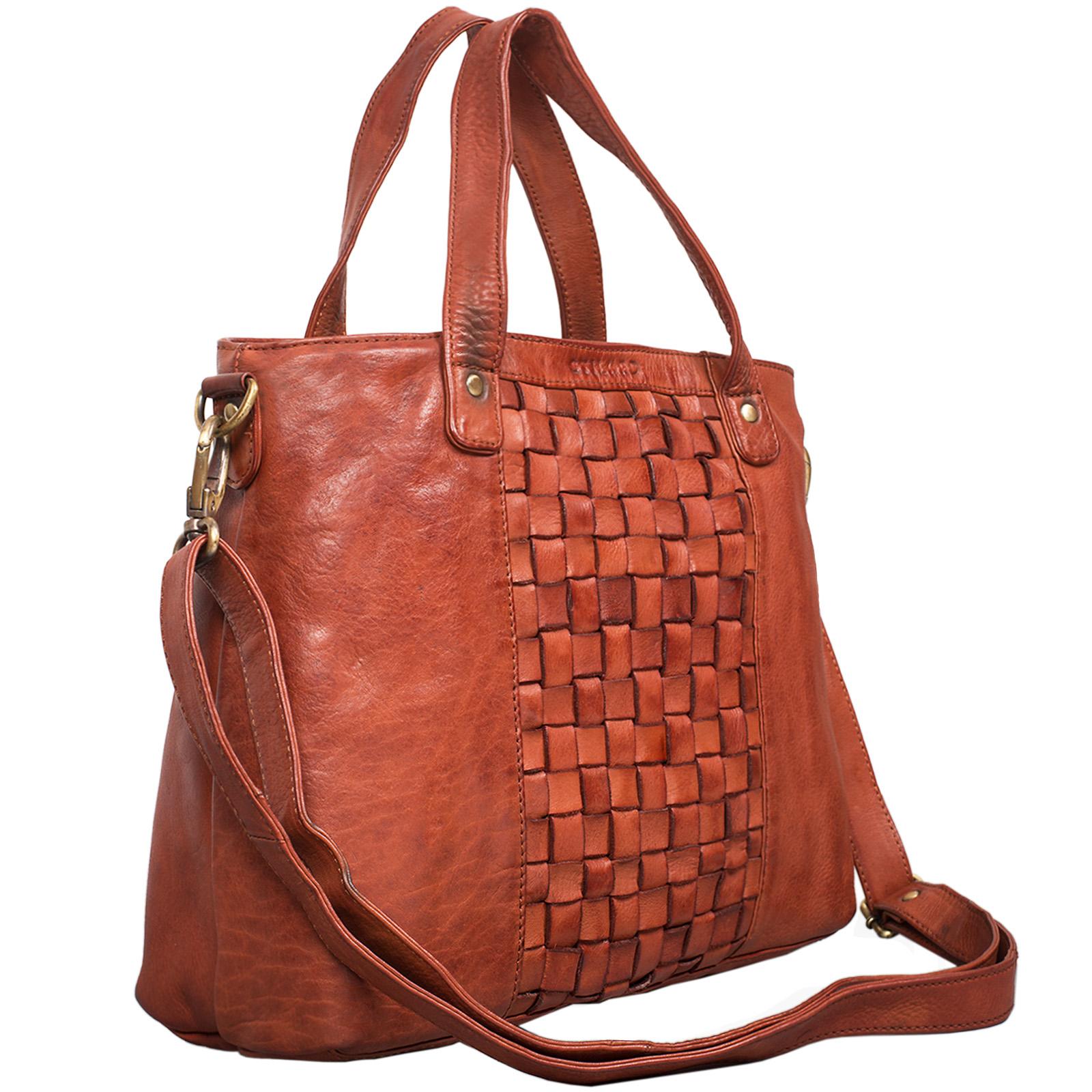 """STILORD """"Mara"""" Elegante Handtasche geflochtenes Leder mit abnehmbaren Schulterriemen Abendtasche Ausgehtasche Echtleder - Bild 15"""