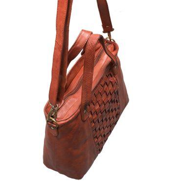 """STILORD """"Mara"""" Elegante Handtasche geflochtenes Leder mit abnehmbaren Schulterriemen Abendtasche Ausgehtasche Echtleder – Bild 19"""
