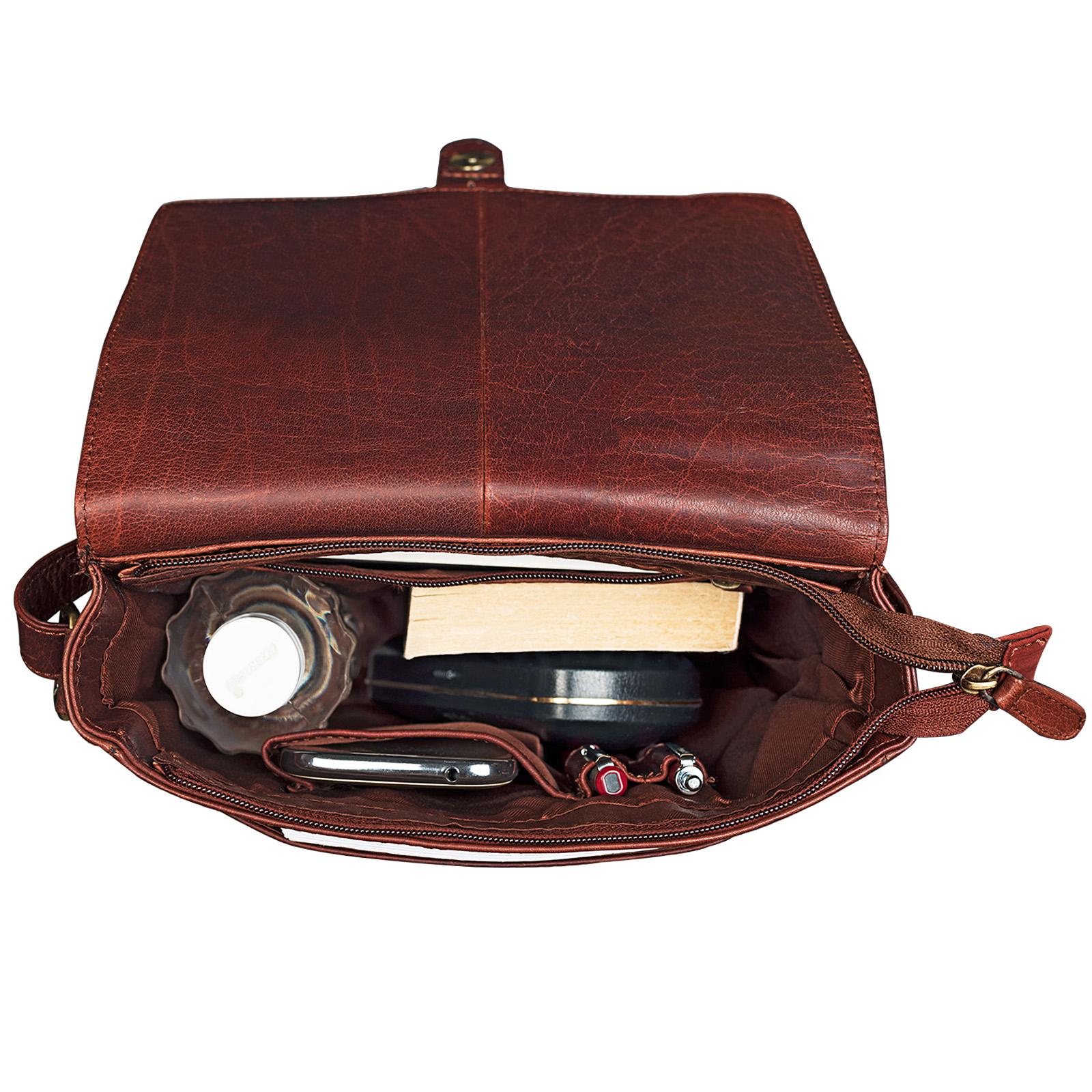 Herren Messenger Tasche echtes Leder
