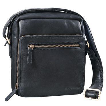 """STILORD """"Nathan"""" Umhängetasche Herren Leder klein braun Vintage Herrentasche 10,1 Zoll Tablettasche für iPad echtes Leder  – Bild 12"""