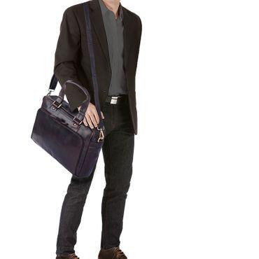 """STILORD """"Jon"""" Vintage Leder Umhängetasche Herren Damen Laptoptasche 15.6 Zoll für große DIN A4 Aktenordner Business Büro Arbeit Uni echtes Büffelleder – Bild 2"""