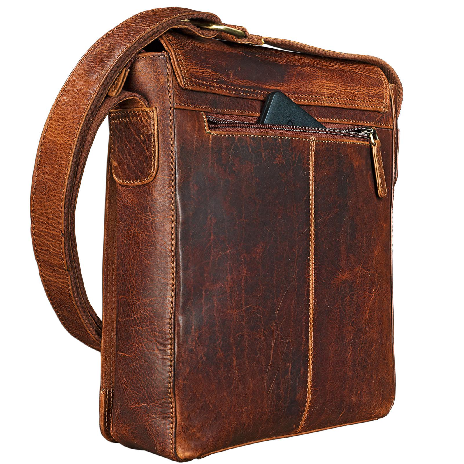 Vintagetasche Leder klein