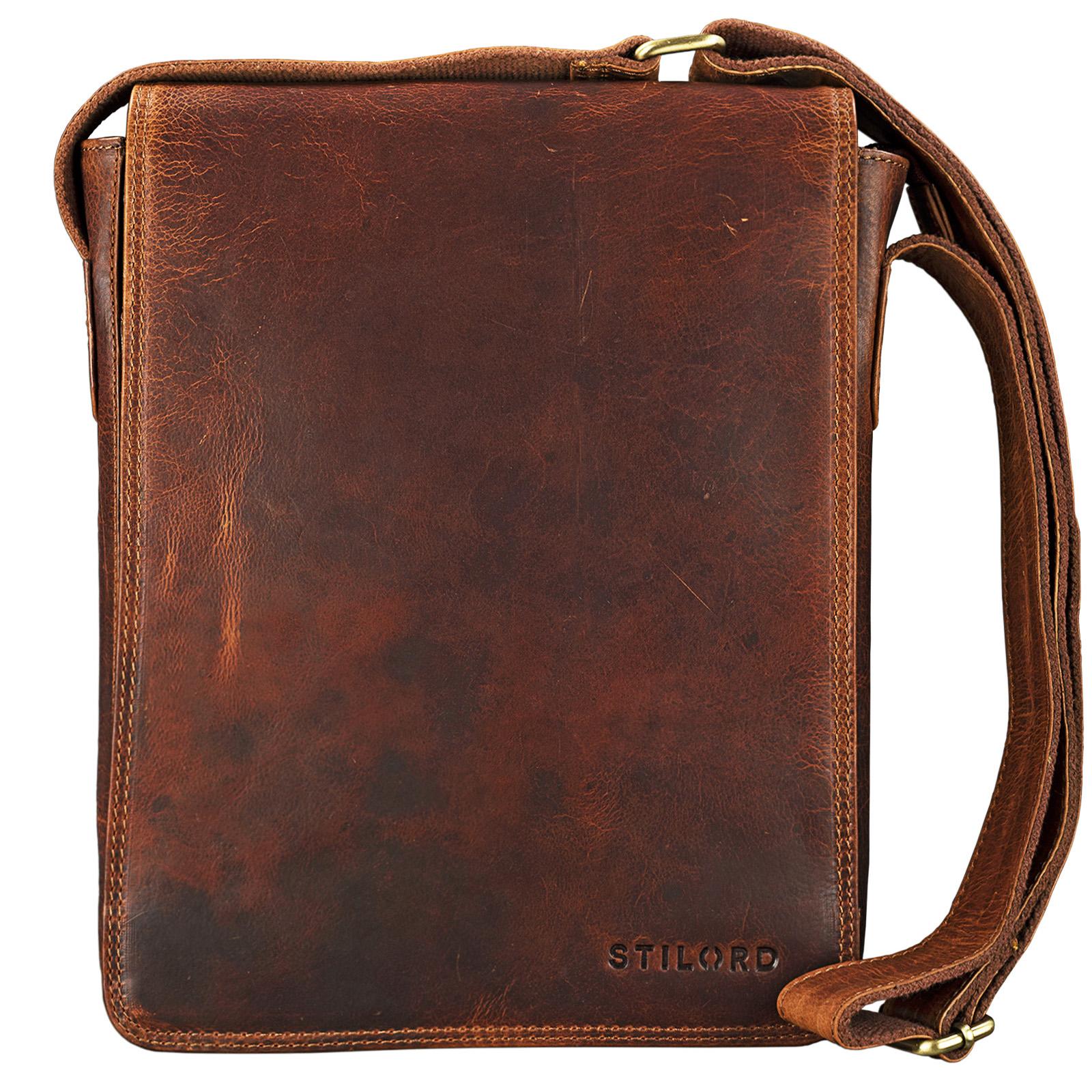 Handtasche Herren Leder