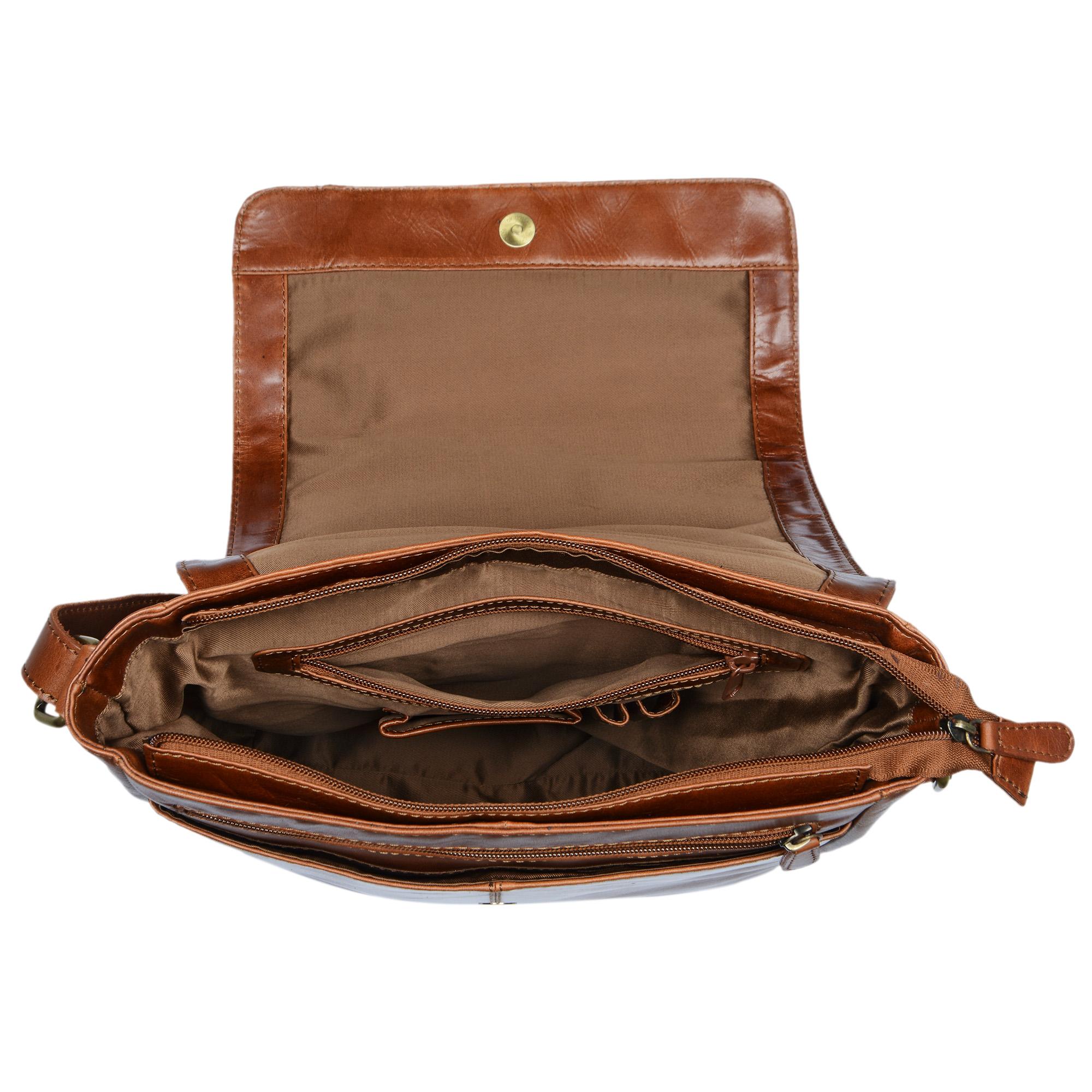 Messenger Tasche Leder A4