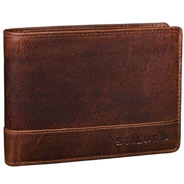 """STILORD """"Lucius"""" Vintage Portemonnaie Leder Herren Brieftasche Geldbörse Portmonee Geldbeutel Wallet Echtleder – Bild 7"""