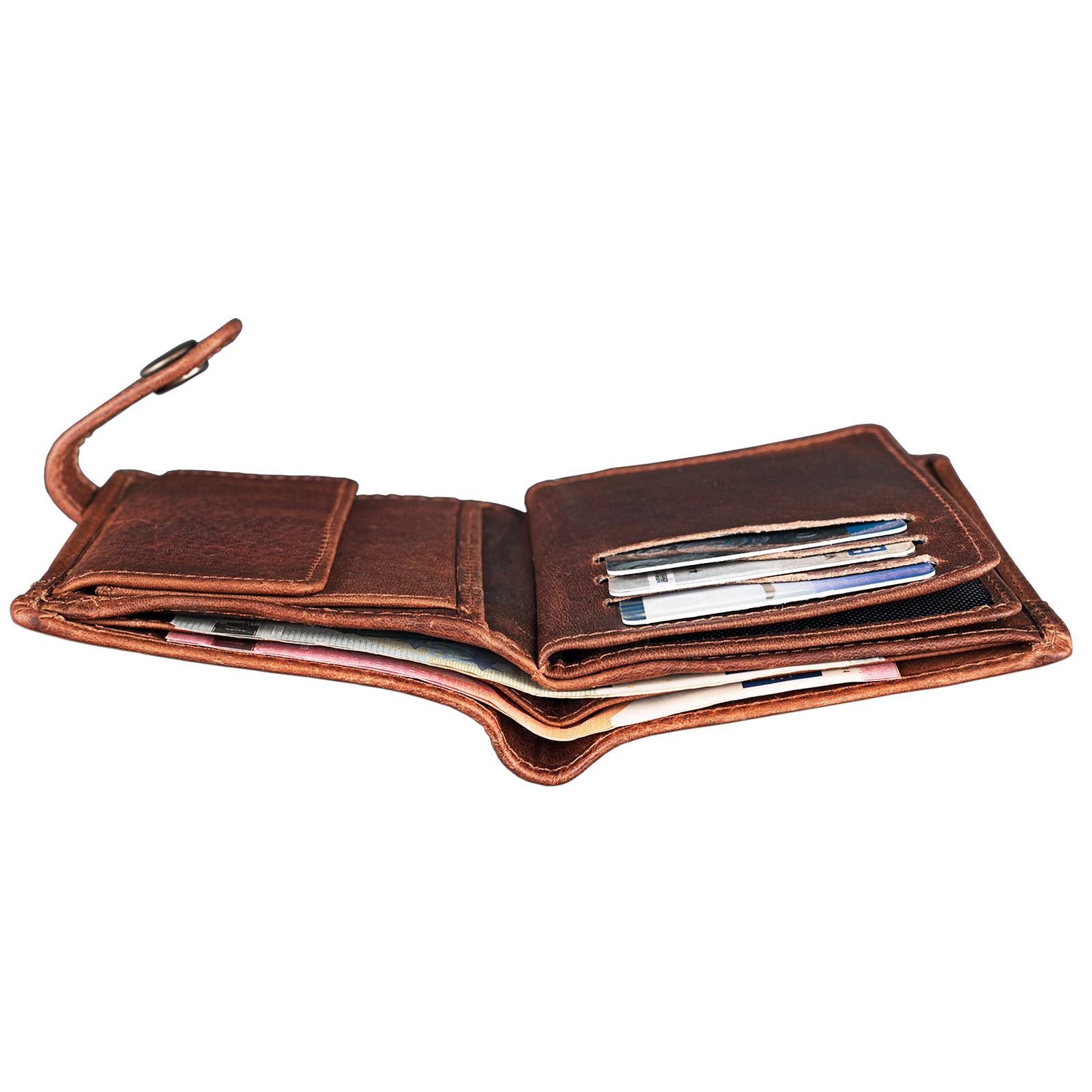 Brieftasche Leder