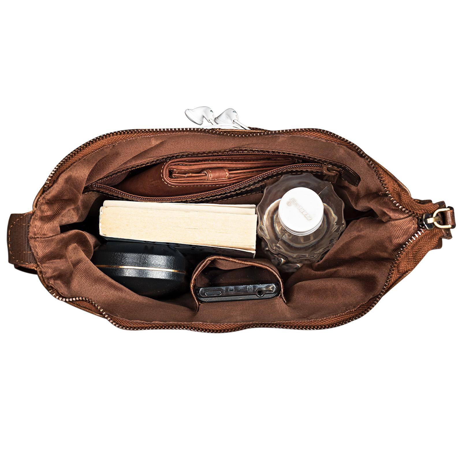 Handtasche ausgehen braun