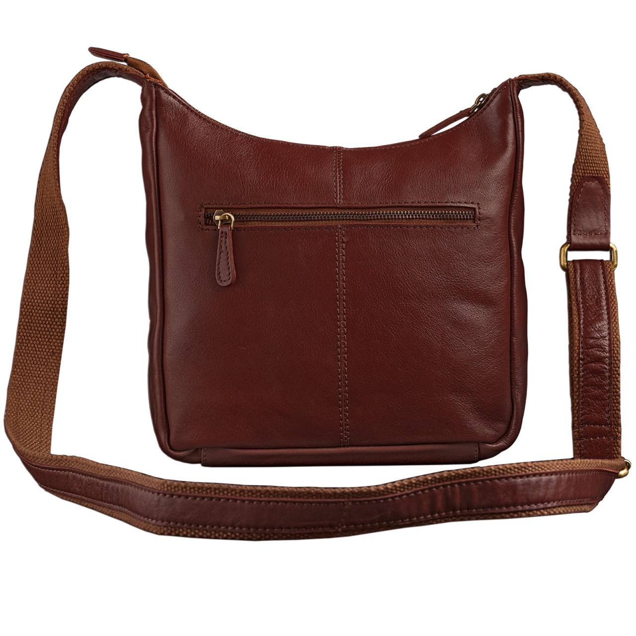 STILORD kleine Lederhandtasche Umhängetasche Vintage Handtasche mit verstellbarem Schulterriemen aus weichem Antik Leder Damen - Bild 11