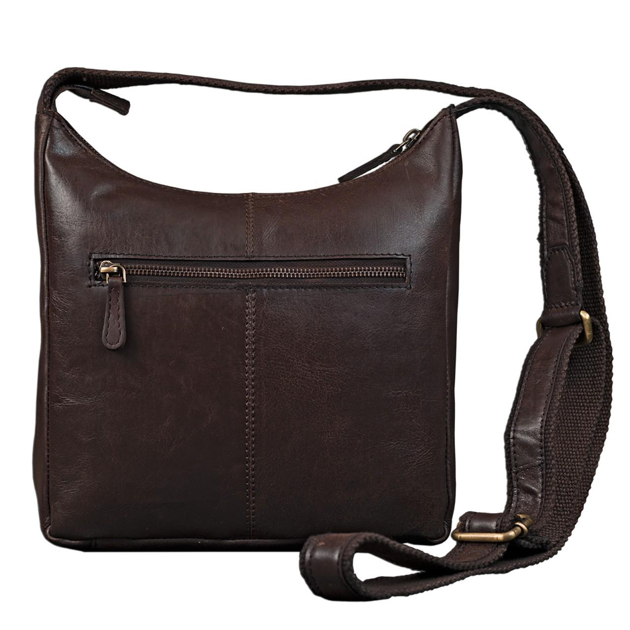 STILORD kleine Lederhandtasche Umhängetasche Vintage Handtasche mit verstellbarem Schulterriemen aus weichem Antik Leder Damen - Bild 18