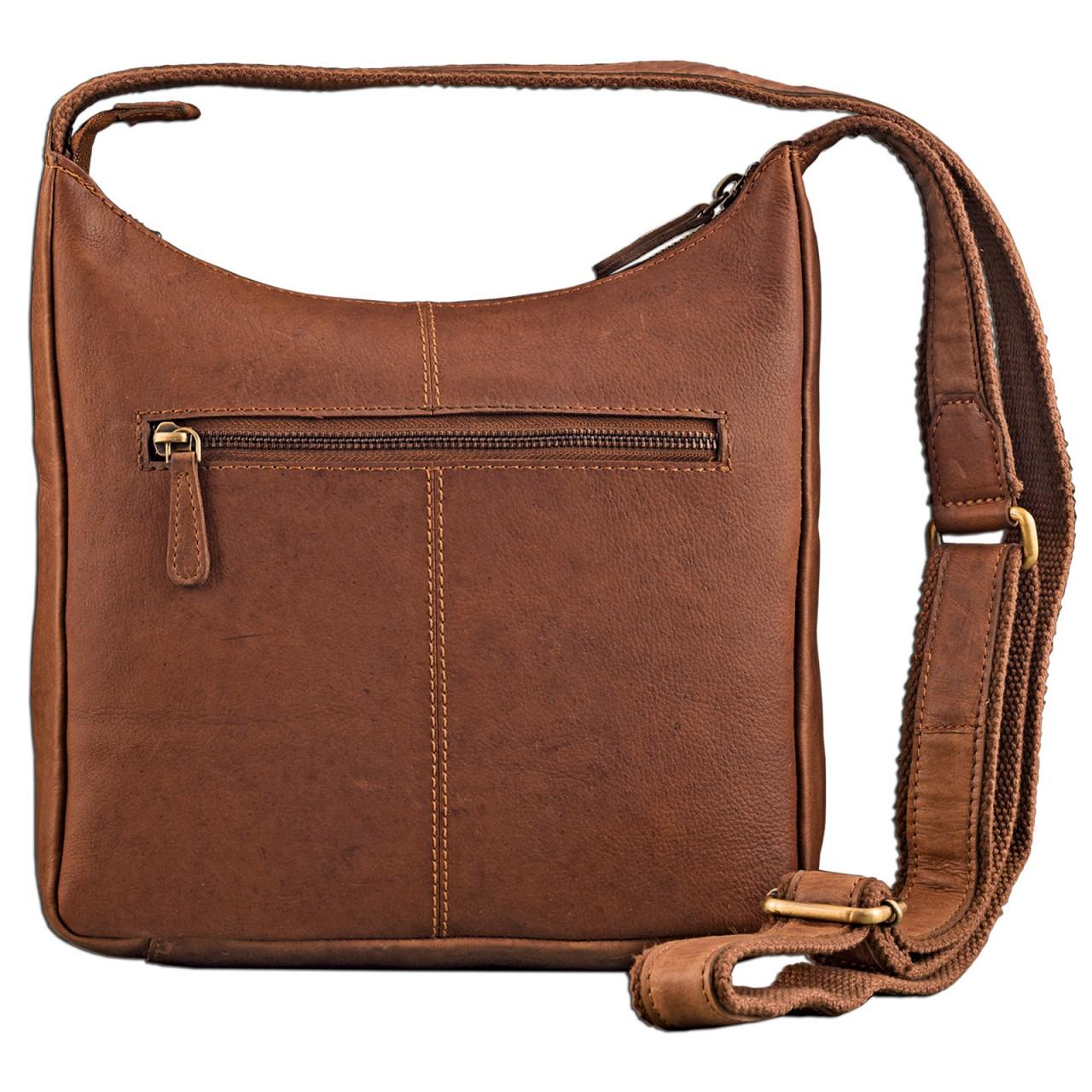 STILORD kleine Lederhandtasche Umhängetasche Vintage Handtasche mit verstellbarem Schulterriemen aus weichem Antik Leder Damen - Bild 25