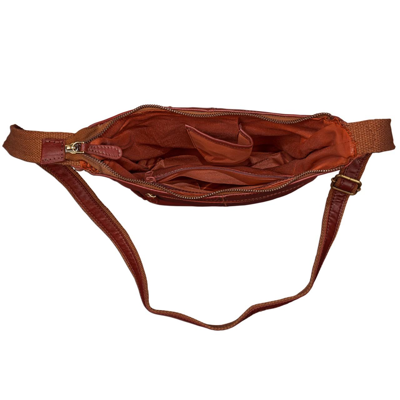 STILORD kleine Lederhandtasche Umhängetasche Vintage Handtasche mit verstellbarem Schulterriemen aus weichem Antik Leder Damen - Bild 9