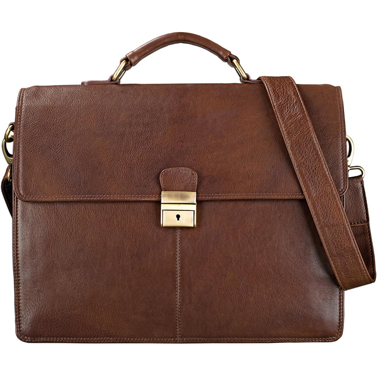 """STILORD """"Edward"""" Herren Aktentasche Dokumententasche Laptoptasche Business Büro Tasche mit Schultergurt echt Leder - Bild 8"""