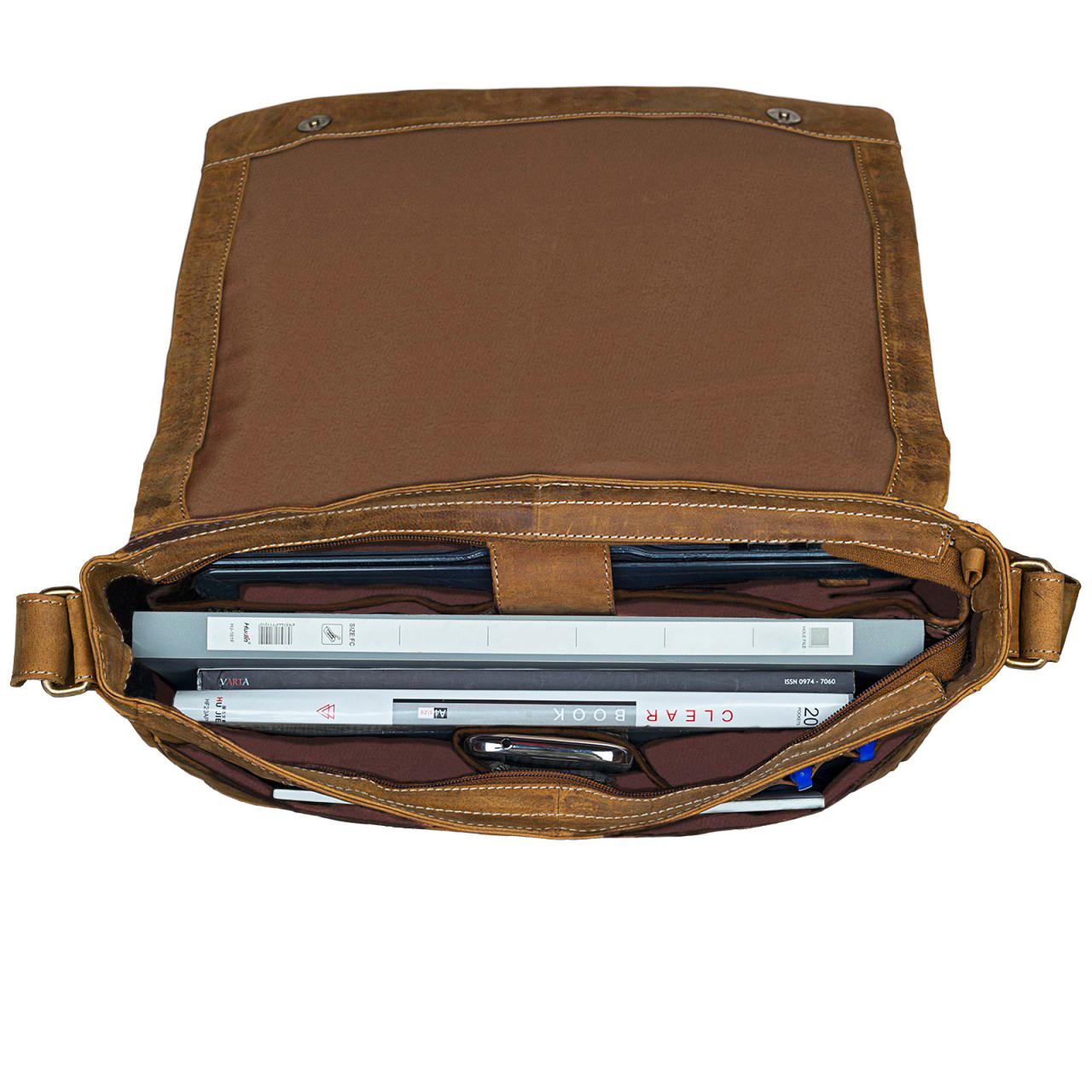 Notebooktasche Leder