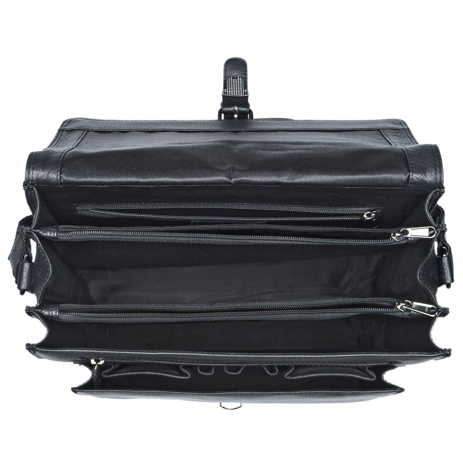 """STILORD """"Romeo"""" Kleine Aktentasche Leder für Herren Damen Vintage Businesstasche Bürotasche für DIN A4 Dokumente und 13,3 Zoll Laptops MacBooks aus echtem Leder - Bild 18"""