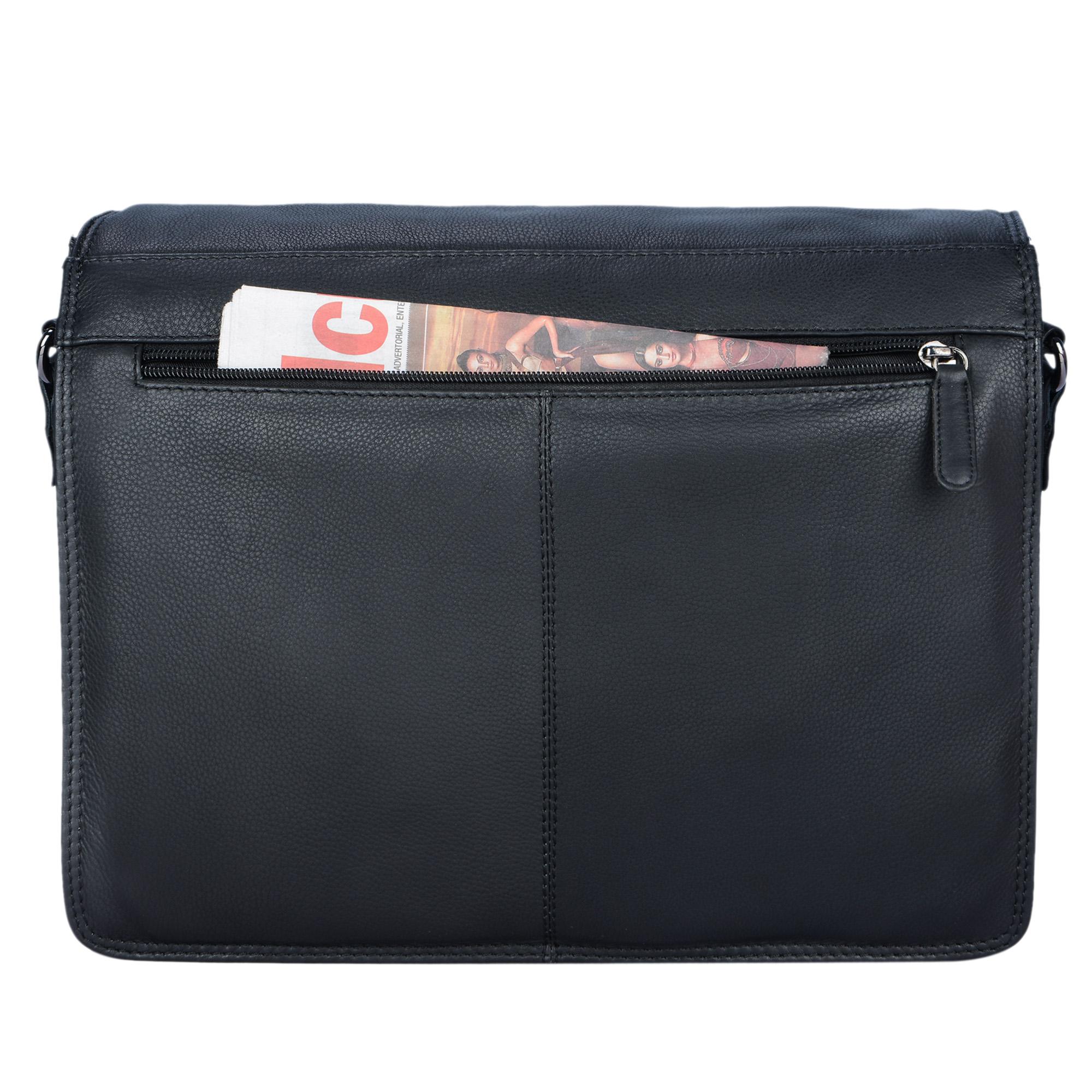 """STILORD """"Romeo"""" Kleine Aktentasche Leder für Herren Damen Vintage Businesstasche Bürotasche für DIN A4 Dokumente und 13,3 Zoll Laptops MacBooks aus echtem Leder - Bild 21"""