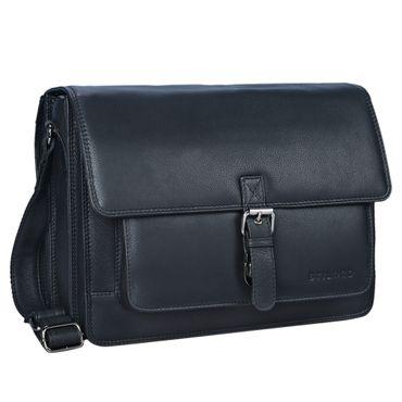 """STILORD """"Romeo"""" Kleine Aktentasche Leder für Herren Damen Vintage Businesstasche Bürotasche für DIN A4 Dokumente und 13,3 Zoll Laptops MacBooks aus echtem Leder – Bild 15"""