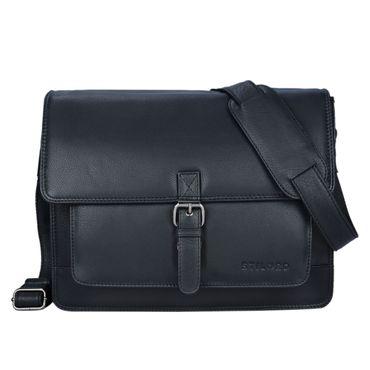 """STILORD """"Romeo"""" Kleine Aktentasche Leder für Herren Damen Vintage Businesstasche Bürotasche für DIN A4 Dokumente und 13,3 Zoll Laptops MacBooks aus echtem Leder – Bild 16"""