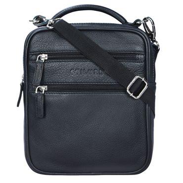 """STILORD """"Mats"""" Herren Handtasche Leder Vintage kleine Messenger Bag mit Tragegriff Tablettasche für 9.7 Zoll iPad DIN A5 Dokumente Umhängetasche aus echtem Leder – Bild 9"""