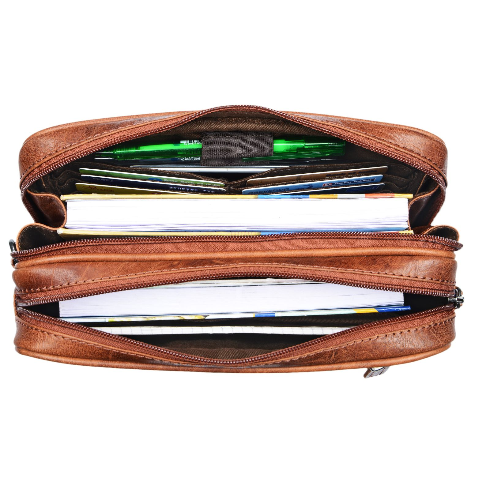 Handtasche Leder für Tablet