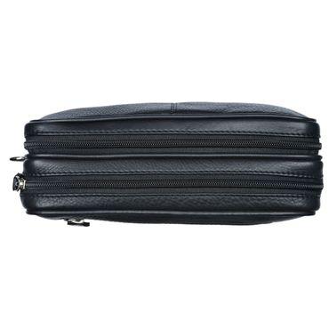 """STILORD """"Nero"""" Handgelenktasche Herren Leder mit Doppelkammer Vintage Handtasche für 8,4 Zoll Tablets ideal für Reisen Festival Herrenhandtasche echtes Leder – Bild 11"""