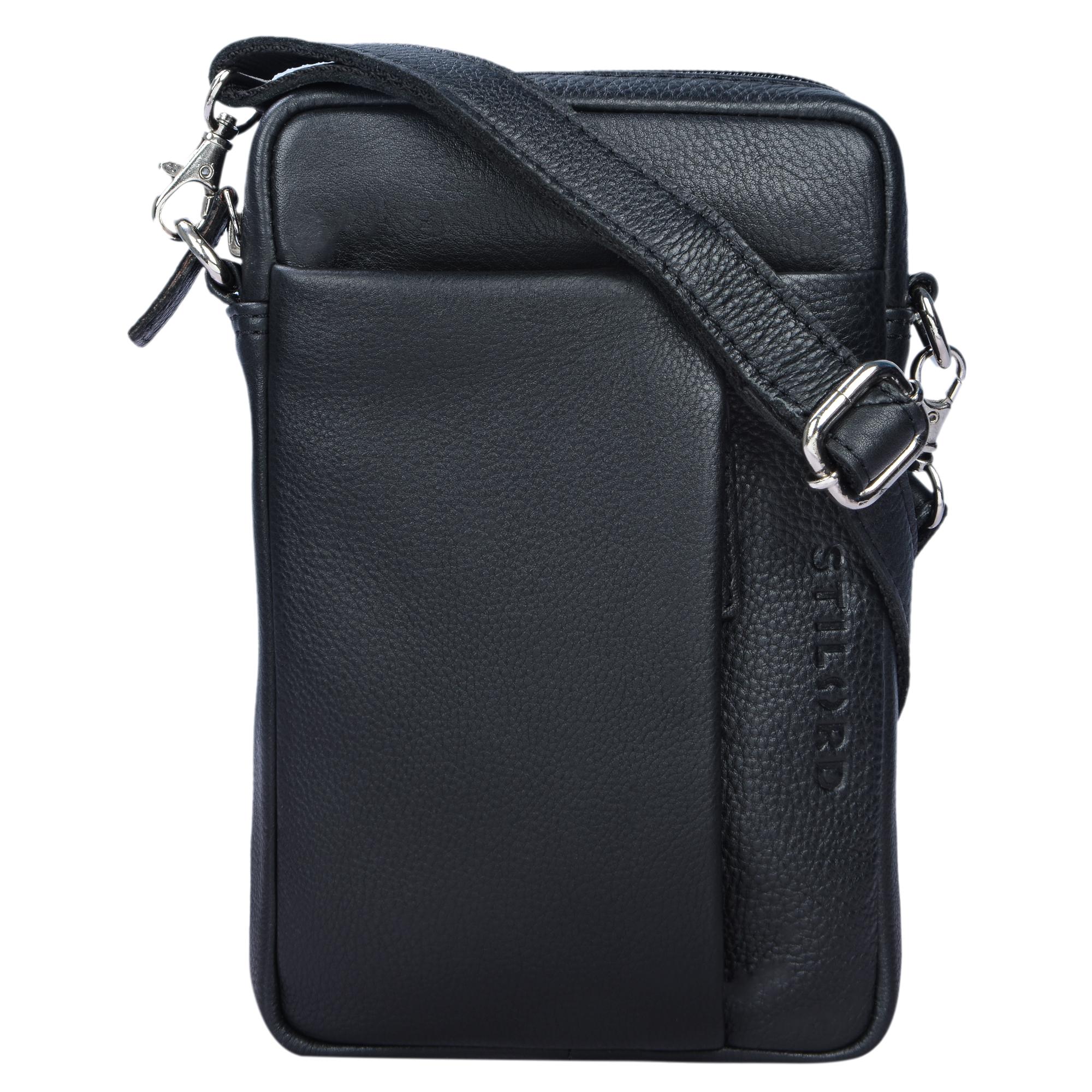 Leder Crossover Bag Vintage