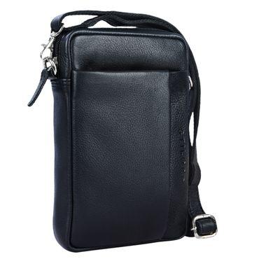 """STILORD """"Fiete"""" 2-in-1 Umhängetasche / Handgelenktasche Leder Herren multifunktionale Handtasche mit abnehmbarem Schulterriemen kleine Ledertasche im Vintage Design"""