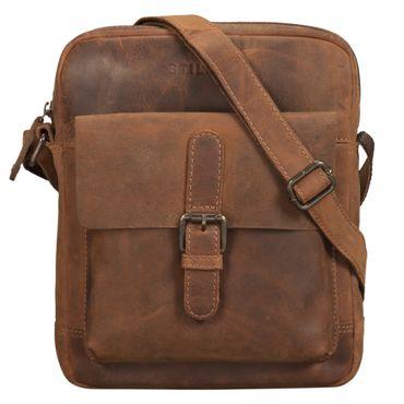 """STILORD """"Luan"""" Kleine Umhängetasche Leder Vintage für Männer und Frauen Messenger Bag mit 10.1 Zoll Tabletfach Cross Body Bag für DIN A5 aus echtem Leder – Bild 11"""