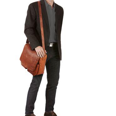 Braune Umhängetasche Leder Vintage