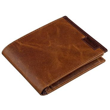 Vintage Geldbörse / Portemonnaie aus hochwertigem Echt Leder, braun