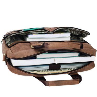 """STILORD """"Vito"""" Vintage Businesstasche Leder Herren Damen 14 Zoll Laptoptasche Umhängetasche Aktentasche Arbeitstasche Rindsleder – Bild 7"""