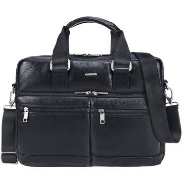 """STILORD """"Vito"""" Vintage Businesstasche Leder Herren Damen 14 Zoll Laptoptasche Umhängetasche Aktentasche Arbeitstasche Rindsleder – Bild 9"""