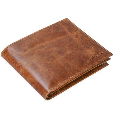 """STILORD """"Chester"""" Vintage Leder Geldbörse mit EC-Karten Schutz Herren Portemonnaie Brieftasche elegant  Retro Rindsleder – Bild 11"""