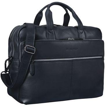 """STILORD """"William"""" Businesstasche Leder groß XL Lehrertasche Aktentasche 15,6 Zoll Laptoptasche Bürotasche Ledertasche Vintage Umhängetasche Echtleder – Bild 10"""