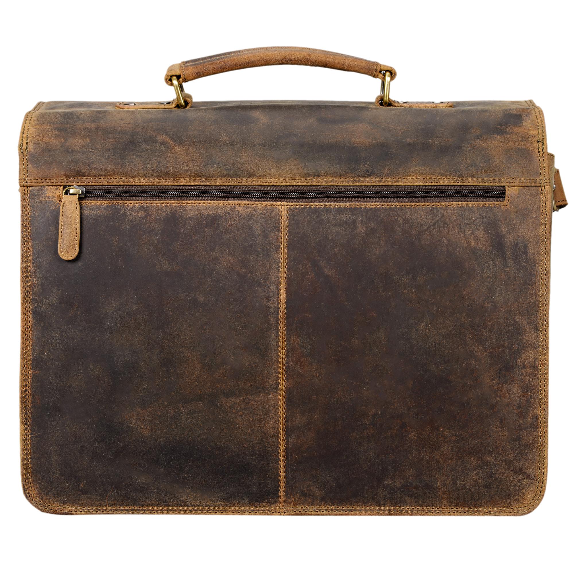 Ledertasche Lehrertasche XL Vintage