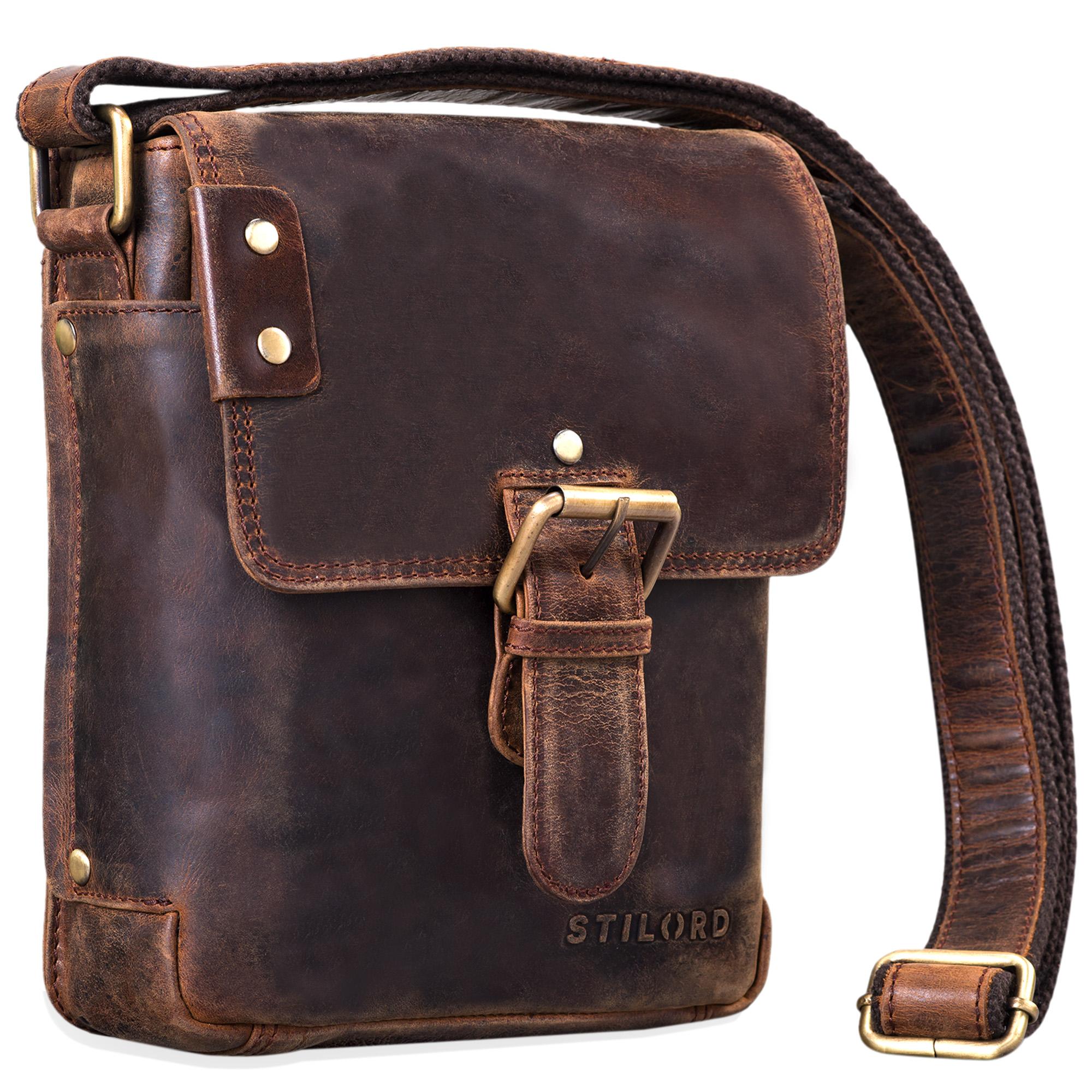 Messenger Bag Leder klein
