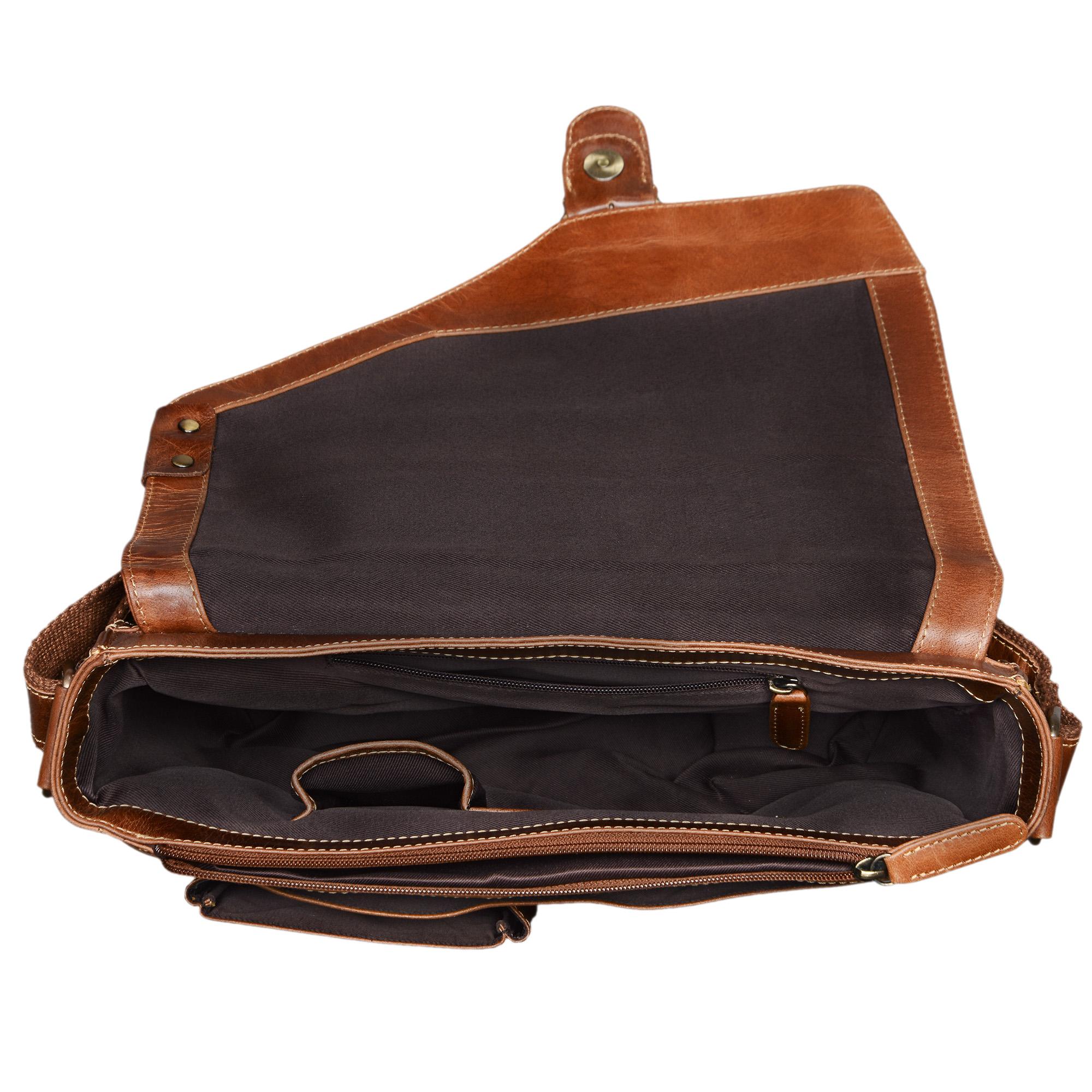 13,3 Zoll Vintage Laptoptasche Leder