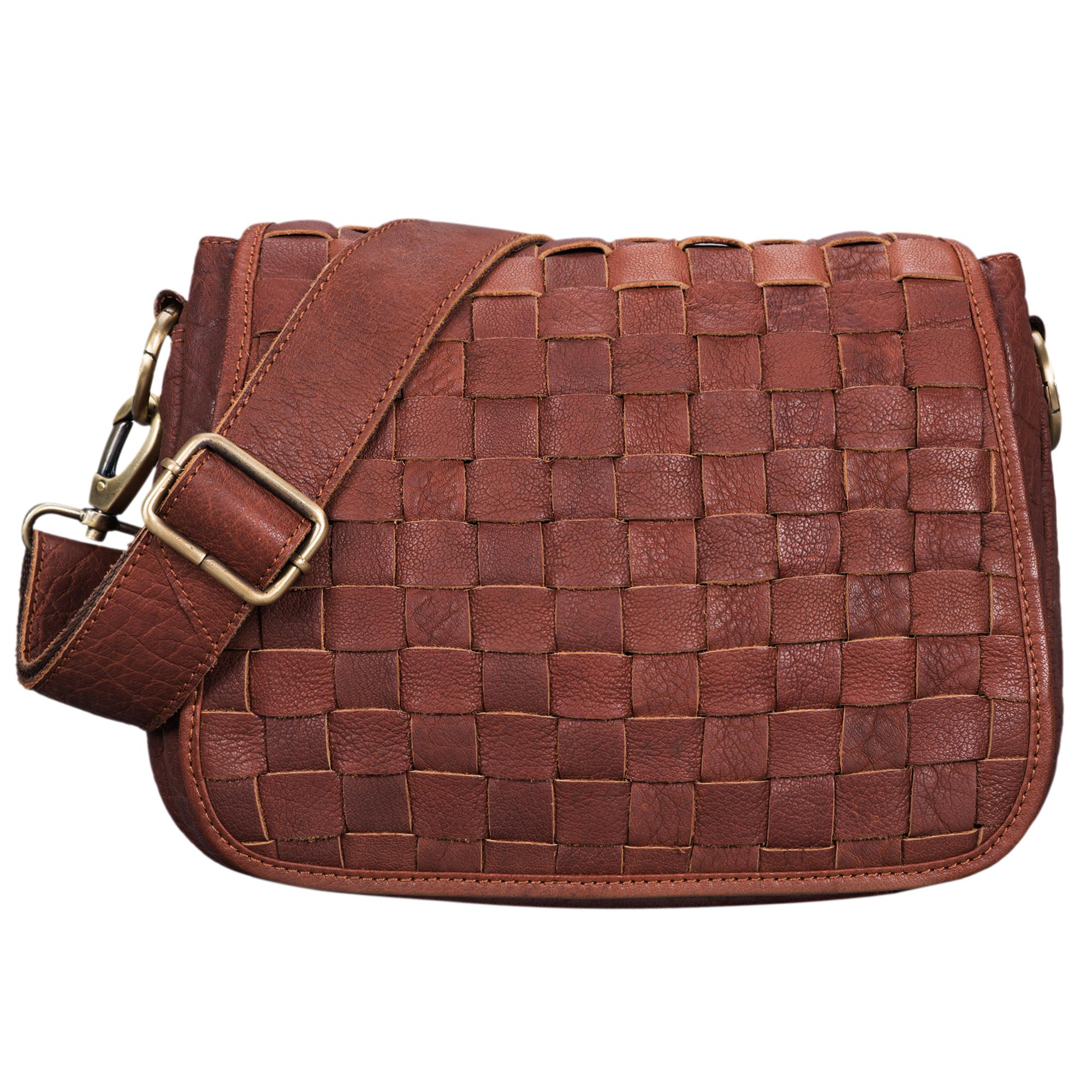 Frauen Leder Handtasche Vintage klein
